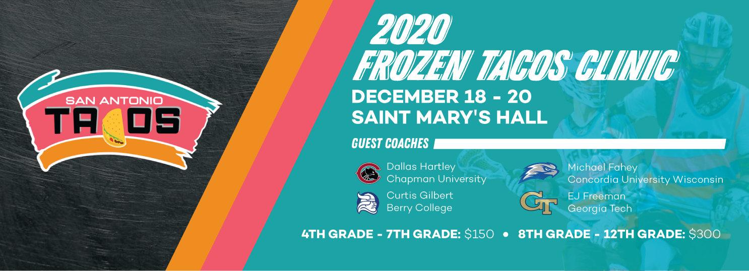 2020 Frozen Tacos Lacrosse Tournament